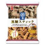 【新発売】米+黒糖スティック(岩塚製菓)商品分析!