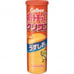 【新発売】ポテトチップスクリスプ うすしお味(カルビー)商品分析!