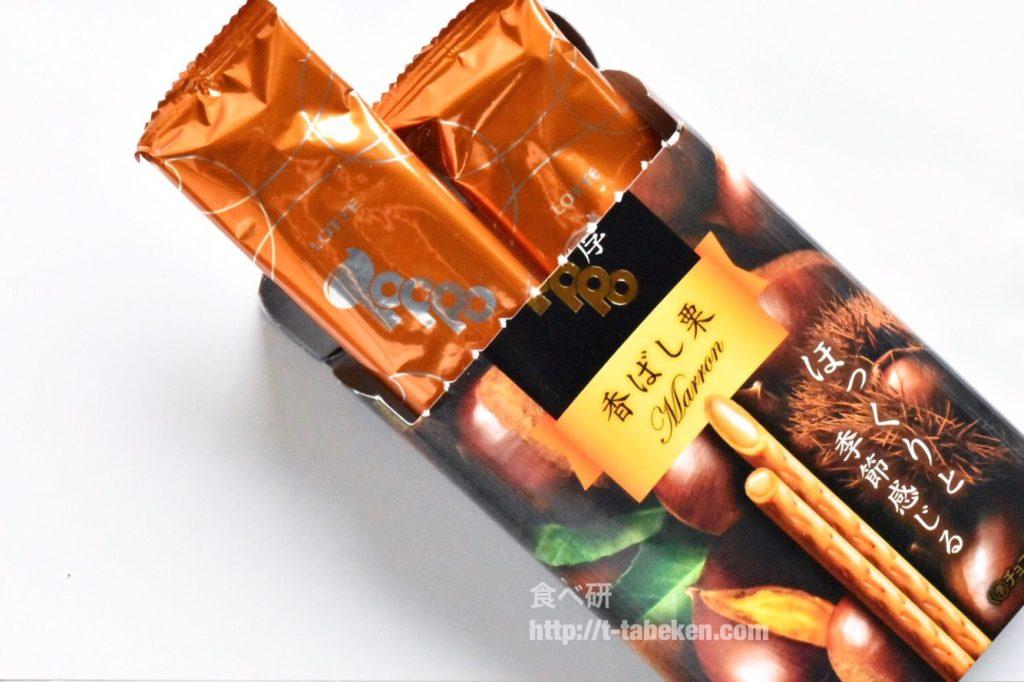 味わい濃厚トッポ 香ばし栗