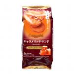 【新発売】キャラメリッチサンド 焦がしキャラメル(東ハト)商品分析!